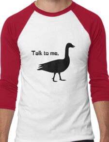 Talk to me goose geek funny nerd Men's Baseball ¾ T-Shirt