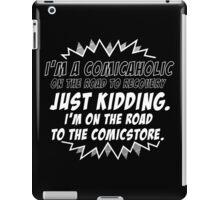 Comicaholic iPad Case/Skin