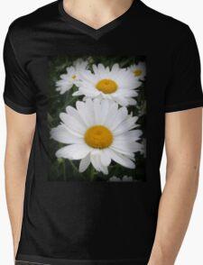 A Lovely Pair Of Shasta Daisies Mens V-Neck T-Shirt