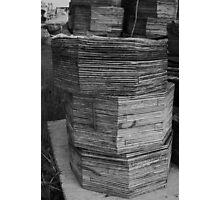 Stacks Photographic Print