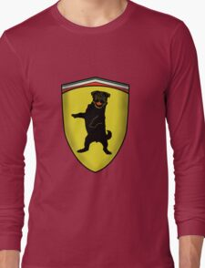 Ferrari Pug Long Sleeve T-Shirt