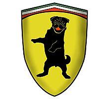 Ferrari Pug Photographic Print