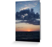 The Sun has Set on Another Day Greeting Card