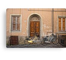 Pair of Bicycles Canvas Print