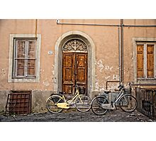Pair of Bicycles Photographic Print