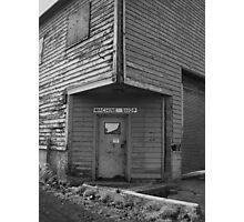 Machine shop Photographic Print