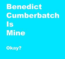 Benedict is Mine by Jillsadetective