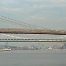 Three Bridges of New York City by Sarah McKoy
