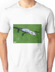 Alligator Floater Unisex T-Shirt