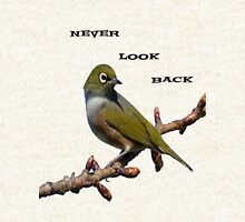 Never Look Back! - Silvereye T-Shirt - NZ - Southland Hoodie