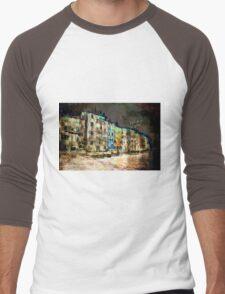 The Essence of Croatia - The Dark Side of Rovinj Men's Baseball ¾ T-Shirt
