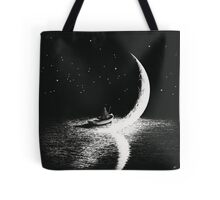 Arrival At Moonlight Tote Bag