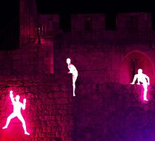 Light in Jerusalem - The Climbers III by Igor Shrayer