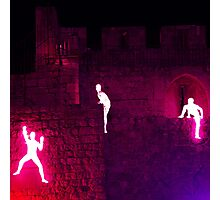 Light in Jerusalem - The Climbers III Photographic Print
