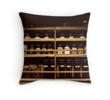 Patent Medicine of Yesteryear Throw Pillow