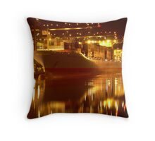 Tacoma Port Throw Pillow