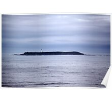 Lonely Lighthouse Poster