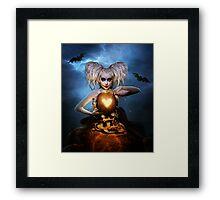 Queen of halloween Framed Print