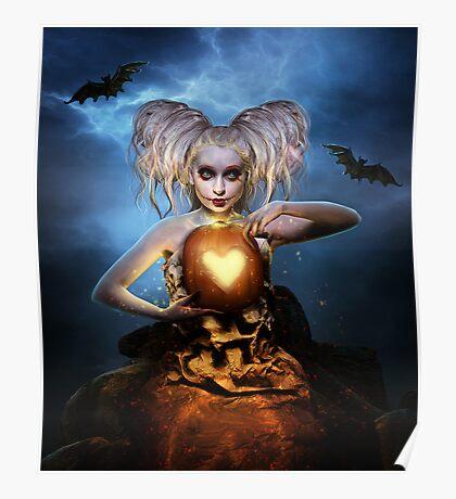 Queen of halloween Poster