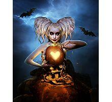 Queen of halloween Photographic Print
