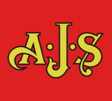 Classic Motorcycle Logos: A. J. Stevens & Co. Ltd (AJS) Kids Tee
