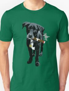 Smokin' Staffie Cross Unisex T-Shirt