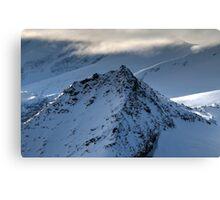 Winter on Kitzsteinhorn 82 Canvas Print