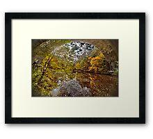 Echo Bridge Framed Print