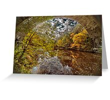 Echo Bridge Greeting Card