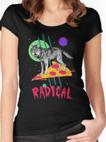 So Radical Women's Fitted Scoop T-Shirt