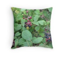 Fall Brambles Throw Pillow