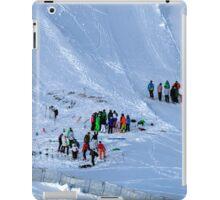 Winter on Kitzsteinhorn 86 iPad Case/Skin