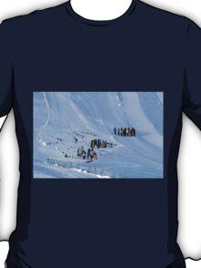 Winter on Kitzsteinhorn 86 T-Shirt