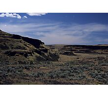 Washington Desert Land Photographic Print