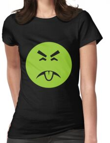 Yuck it up Womens Fitted T-Shirt
