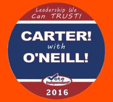 Carter - O'Neill for President Kids Tee