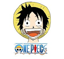 One Piece Luffy Face by SphinxyElpadre