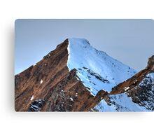 Winter on Kitzsteinhorn 89 Canvas Print
