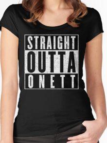 Onett Represent! Women's Fitted Scoop T-Shirt