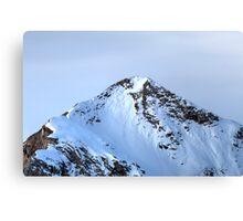 Winter on Kitzsteinhorn 90 Canvas Print