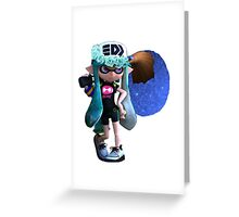 Galaxy Inkling Greeting Card