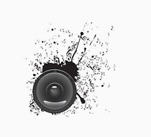 Music Poster with Audio Speaker 2 Unisex T-Shirt
