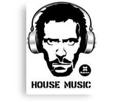 House Music Canvas Print