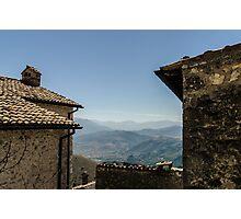 Italian Landscape - Abruzzo Photographic Print