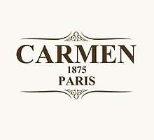 Carmen 1875 Paris by ixrid