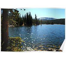 Mirror Lake Sparkle Poster