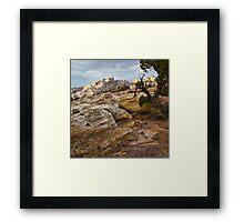 Sandstone Artist's Palette Framed Print