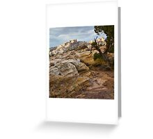 Sandstone Artist's Palette Greeting Card