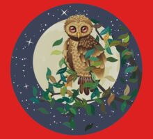 Owl and Moon Kids Clothes