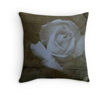 Textured Rose >> Throw Pillow